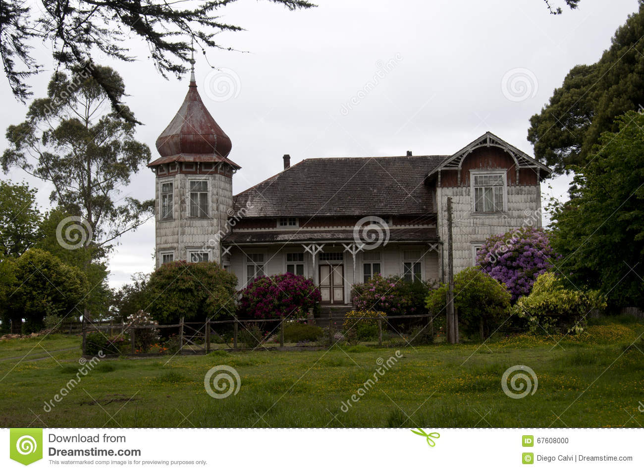 Traditional German Style House Stock Photo Image 67608000