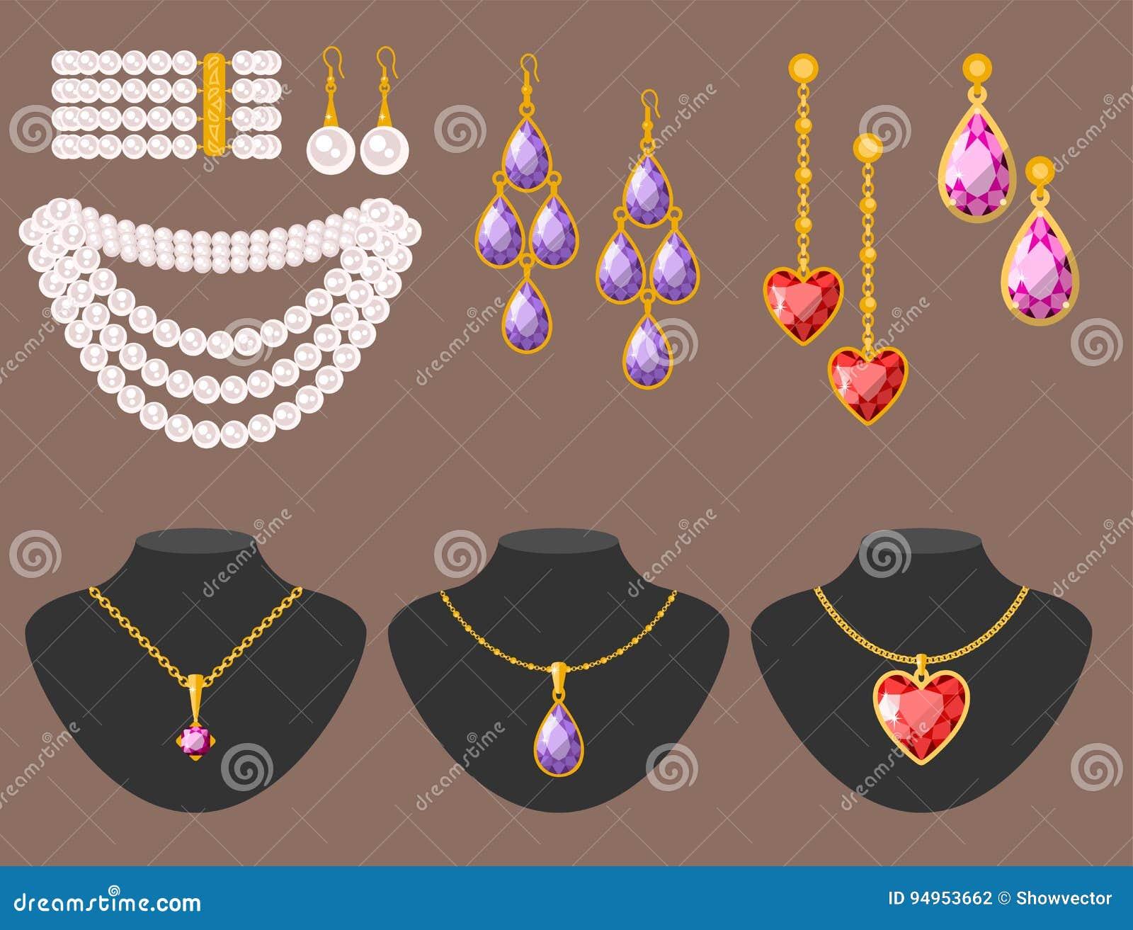 Jewelry Clip Art - Royalty Free