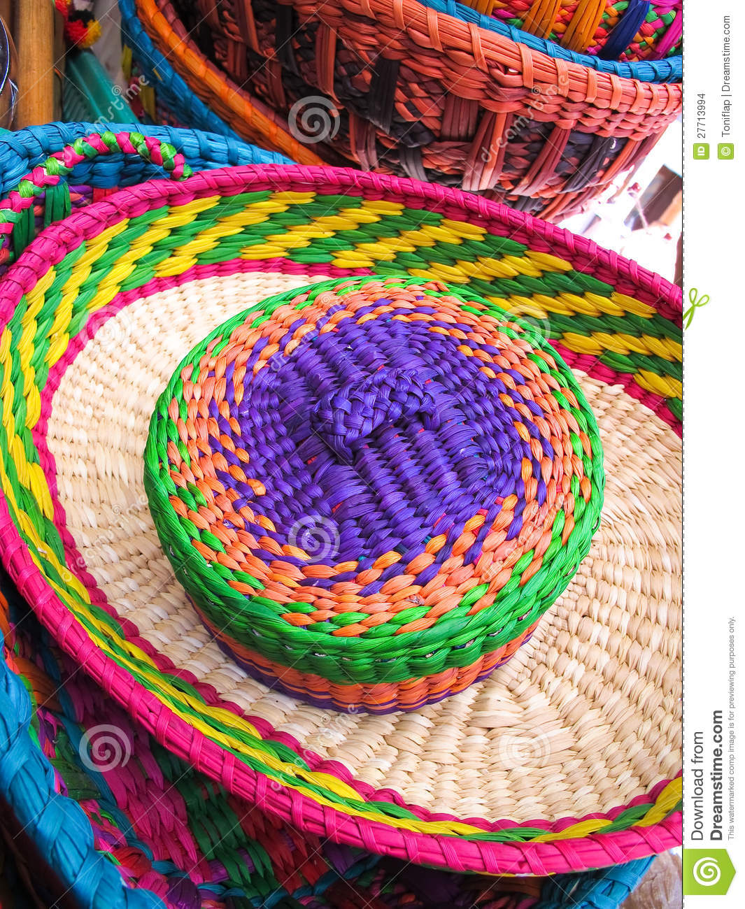 Traditional Hats Chile Stock Images Image 27713994