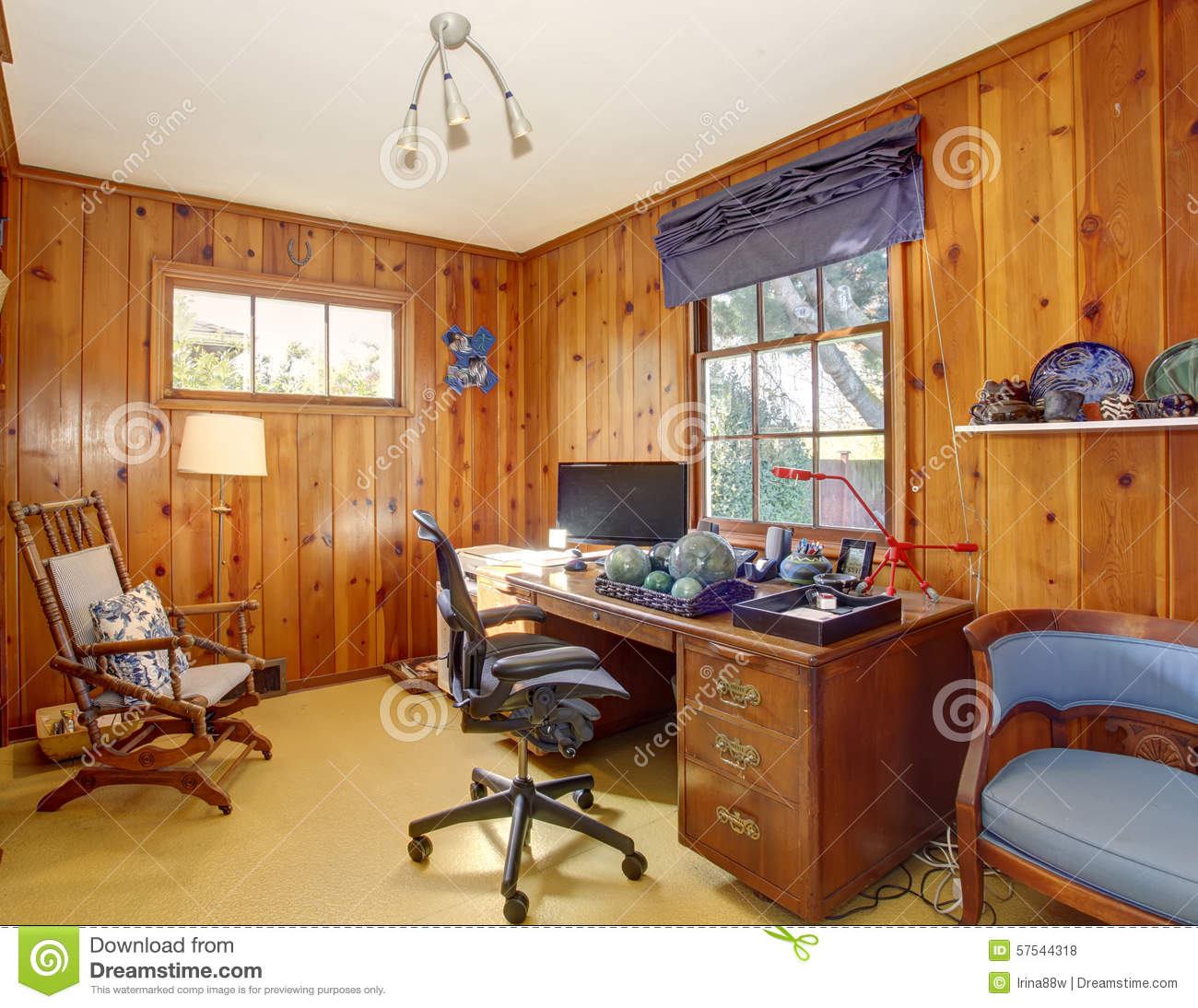office wood paneling. Traditional Home Office With Wood Panel Walls. Paneling G