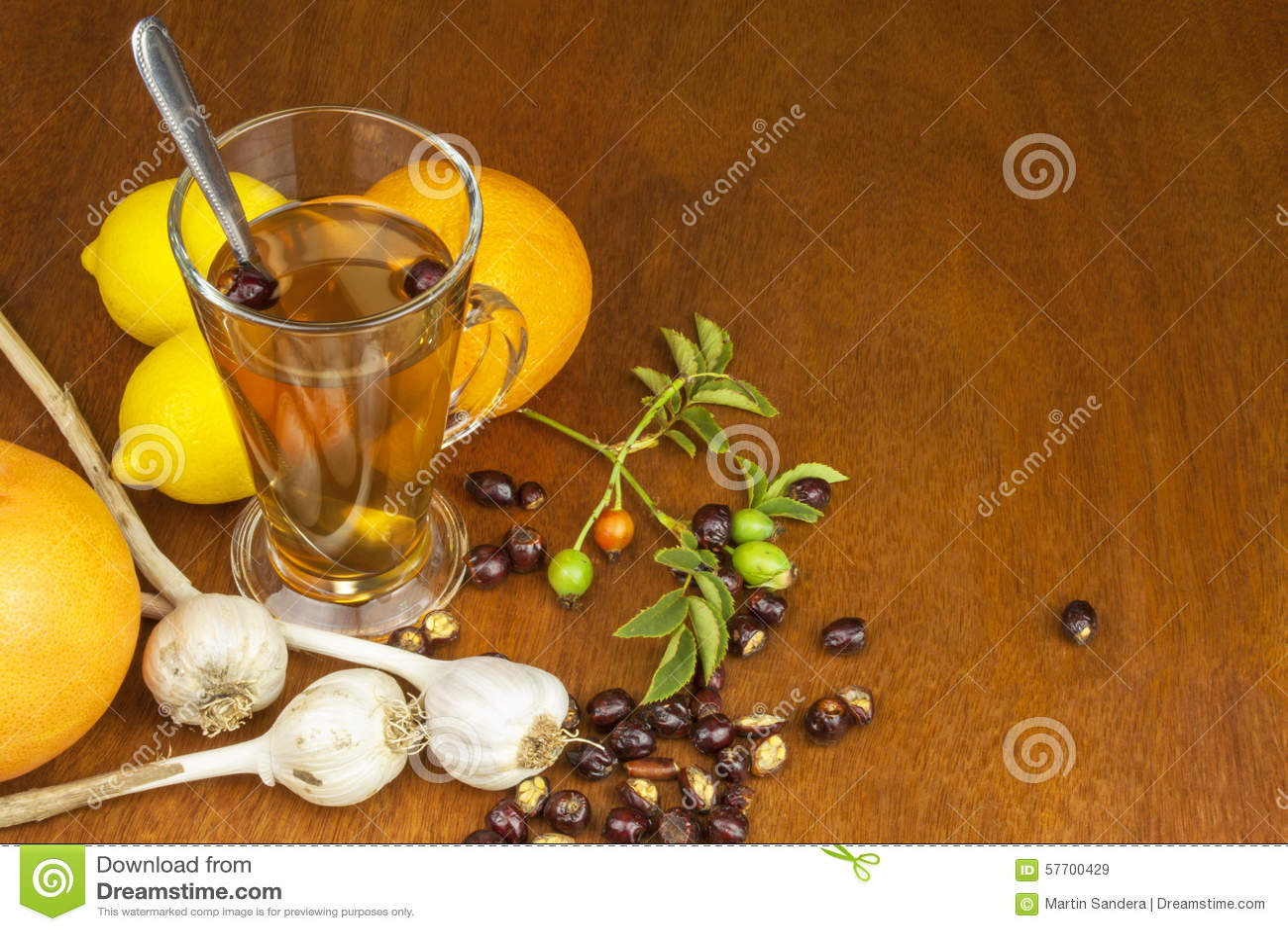 how to make garlic honey lemon tea