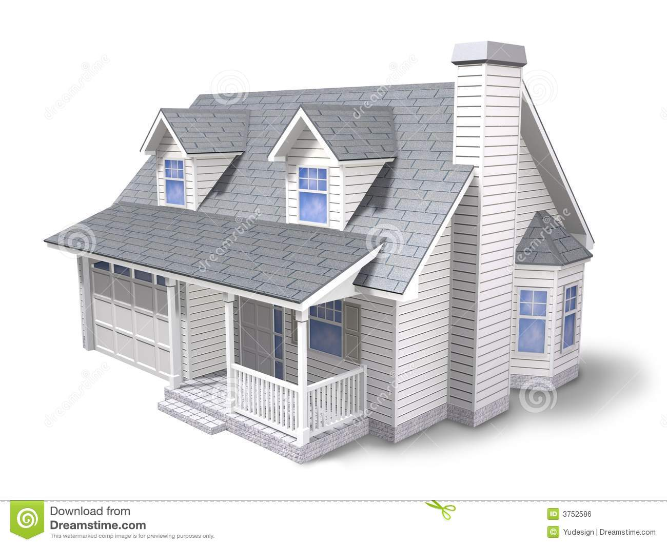 Traditional house stock illustration illustration of for Ome images