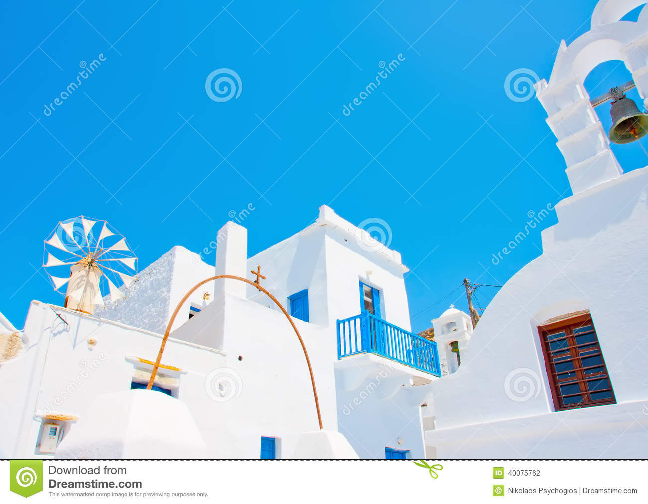 Old beautiful traditional house in chora the capital of amorgos island - A Traditional House