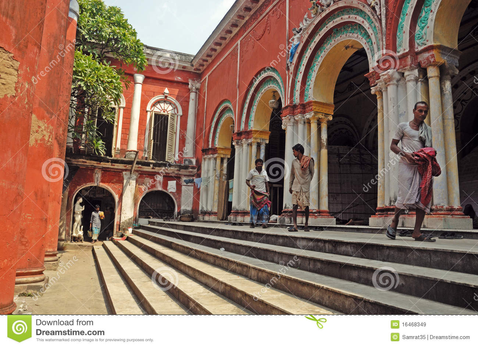 Traditional house of old kolkata editorial stock image for Bangla house photo