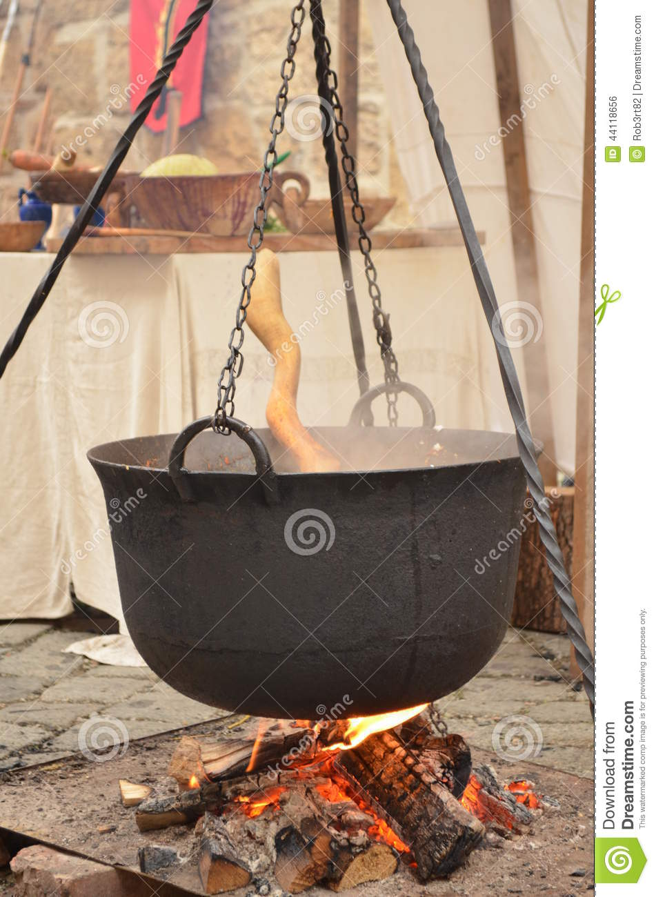 Traditional Hungarian Goulash Pot Stock Photo Image Of Photograph Pork 44118656