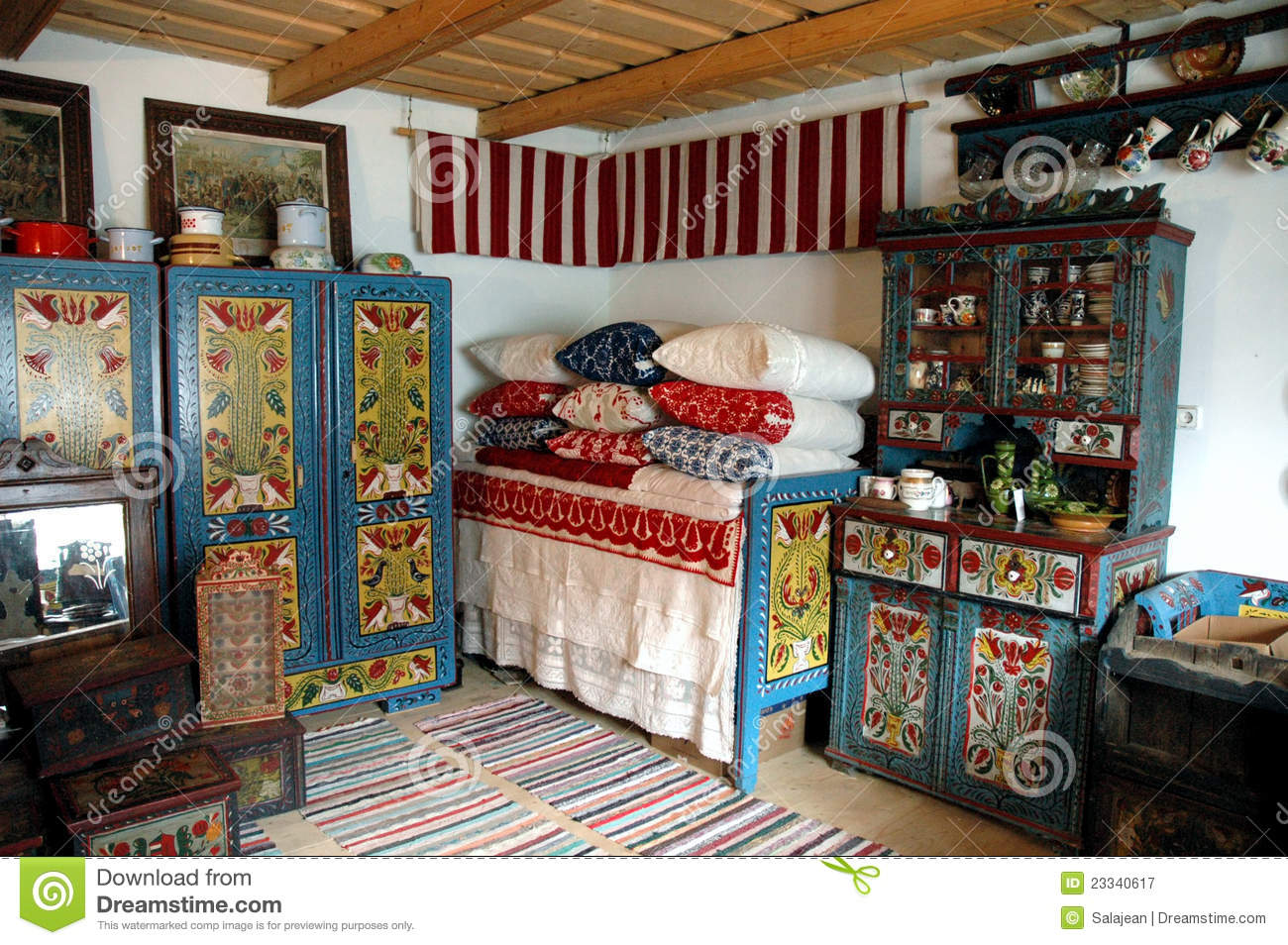 Hungarian Painted Furniture