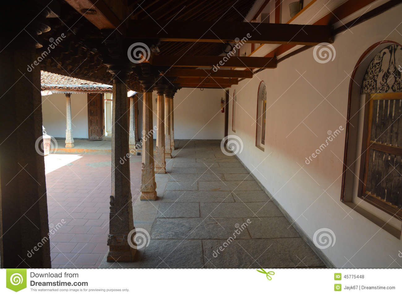 Traditional Indian House Stock Photo Image 45775448