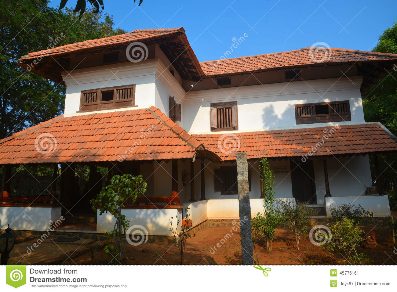 Traditional indian house stock image image of traditional for Indian house image