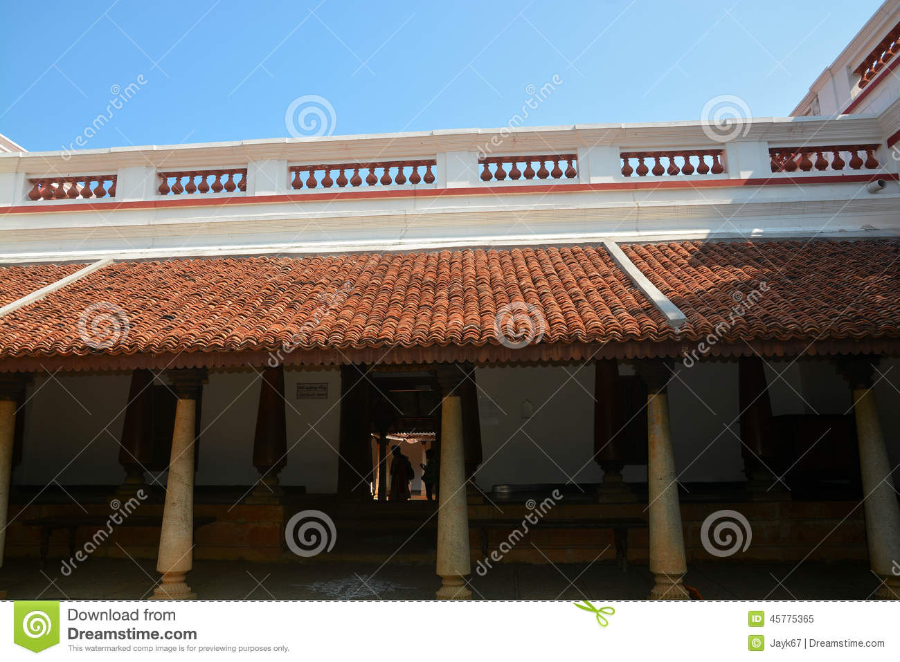 Traditional Indian House Stock Photo - Image: 45775365