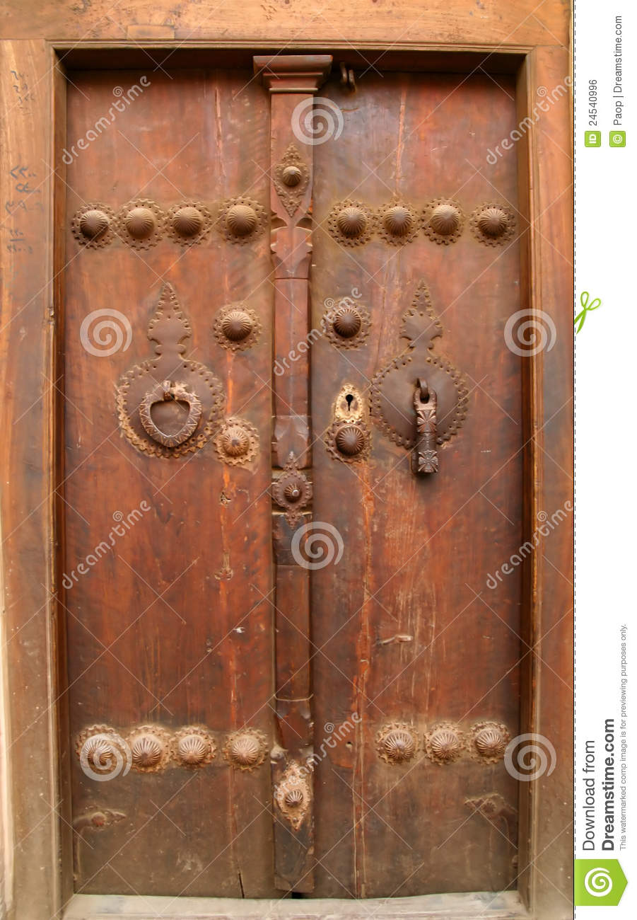 Traditional Iranian door & Traditional Iranian door stock photo. Image of door iran - 24540996