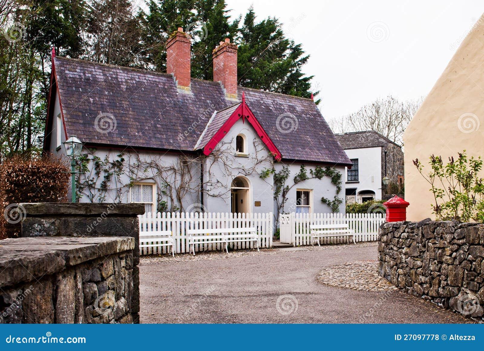 Traditional Irish Cottage Royalty Free Stock Photos