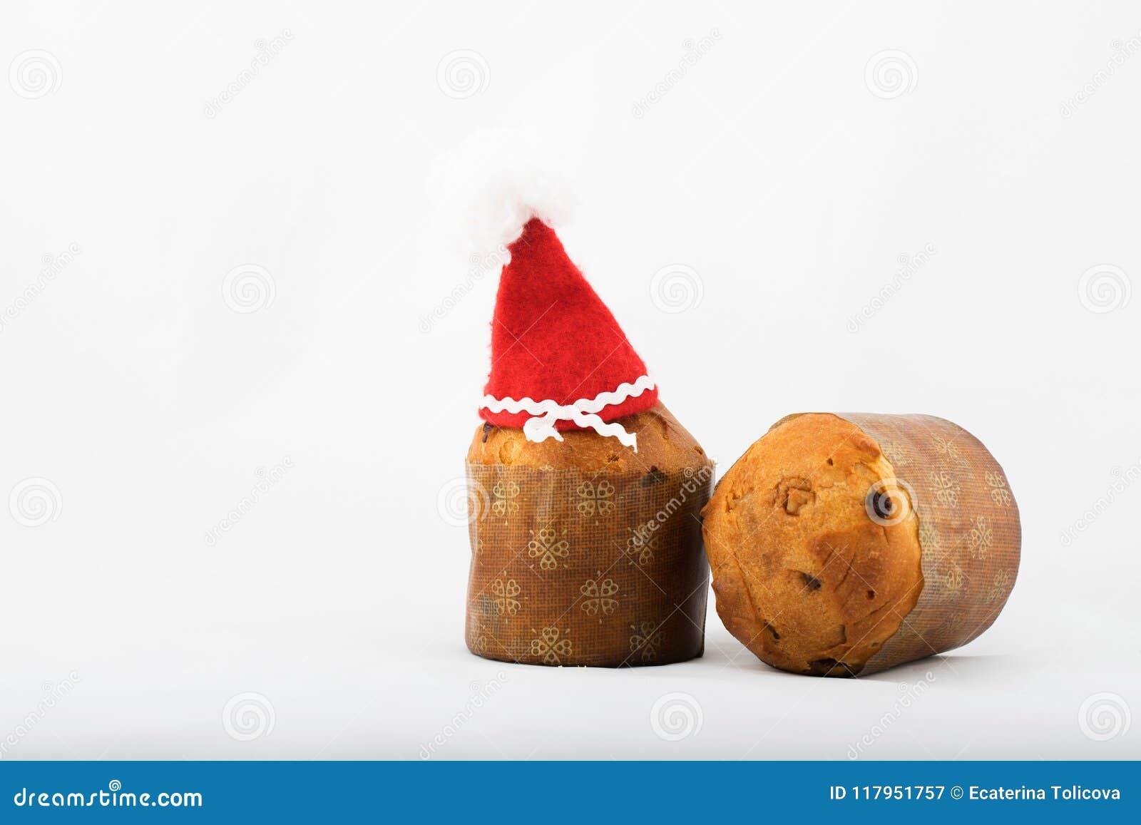 Traditional Italian Christmas Sweet Cake. Closeup Stock Image ...