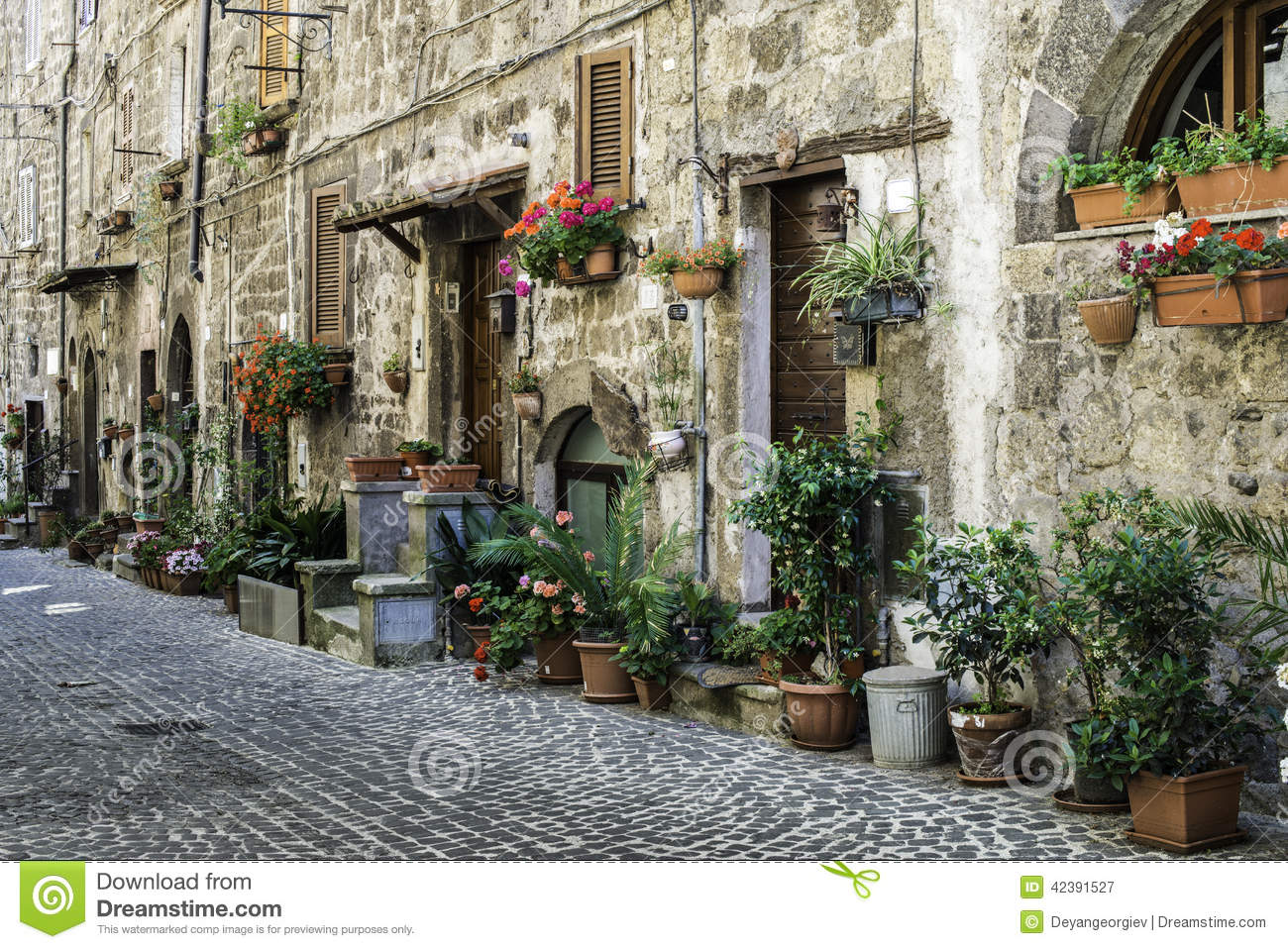 Traditional italian homes stock photo image 42391527 for Classic italian house