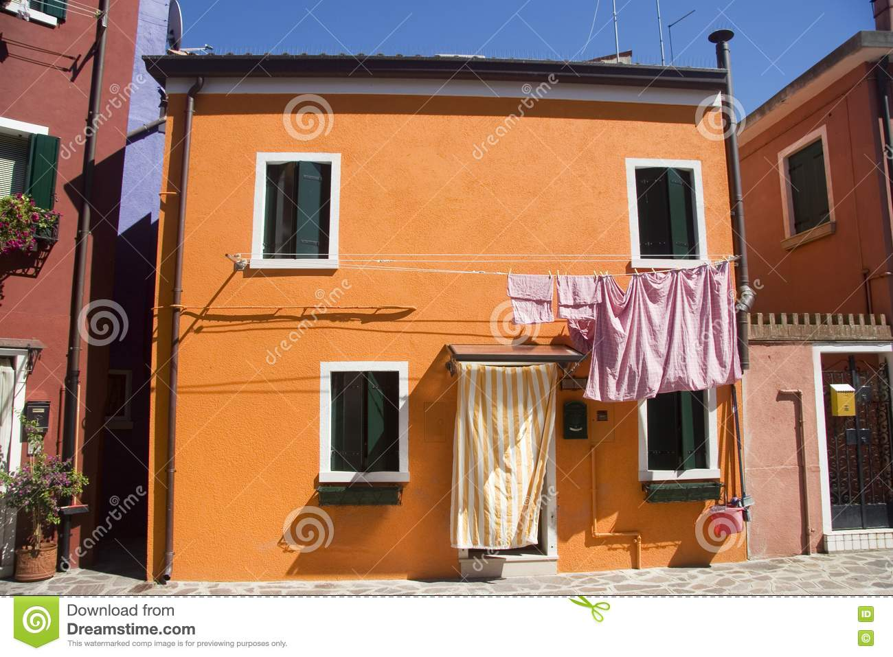 Traditional italian house royalty free stock image image for Classic italian house