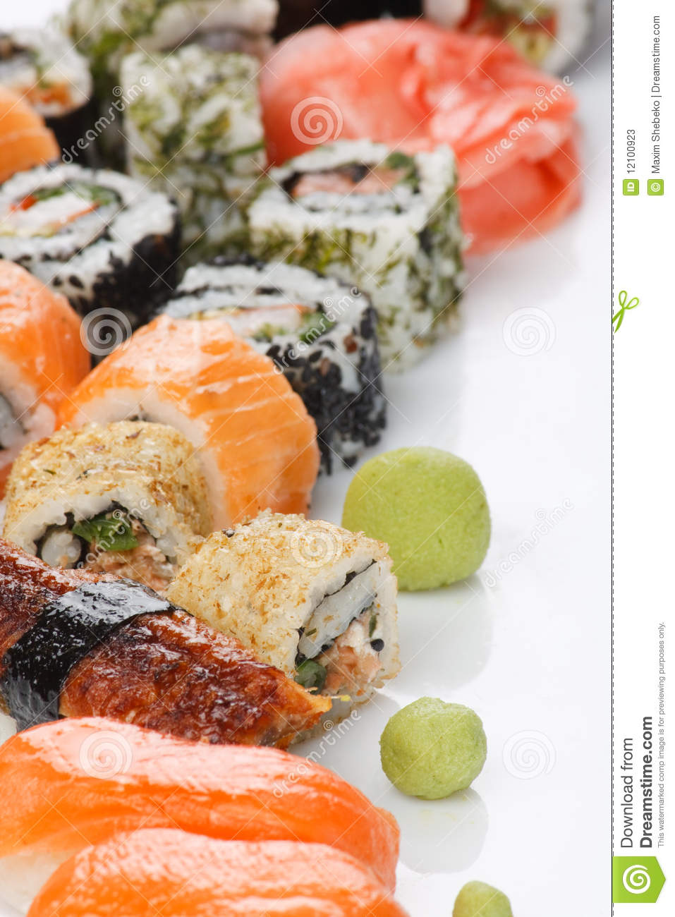 Traditional japanese food stock image image of dinner for Authentic japanese cuisine