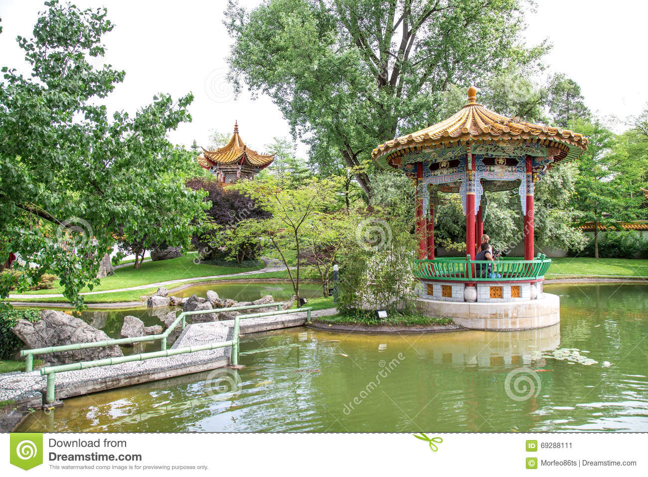 Traditional japanese garden editorial photo image 69288111 for Traditional japanese garden