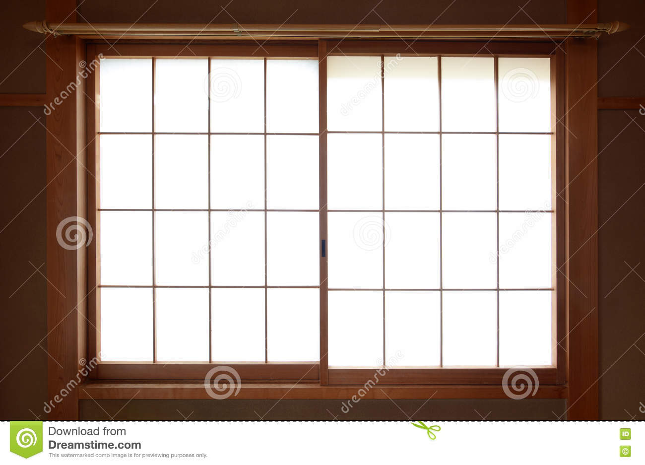 2 bedroom minimalist house plans - Traditional Japanese Rice Paper Window With Sliding Wooden
