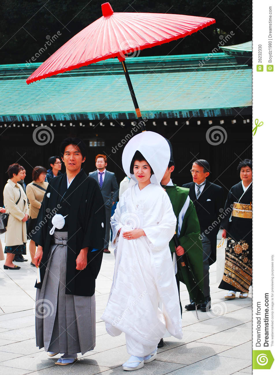 Traditional japanese wedding editorial image image 26232330 for Traditionelles japan