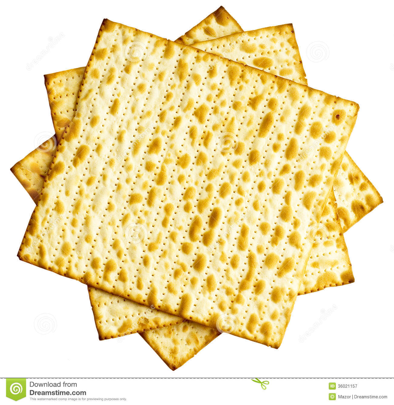 ... traditionally eaten by Jews during the week-long Passover holiday