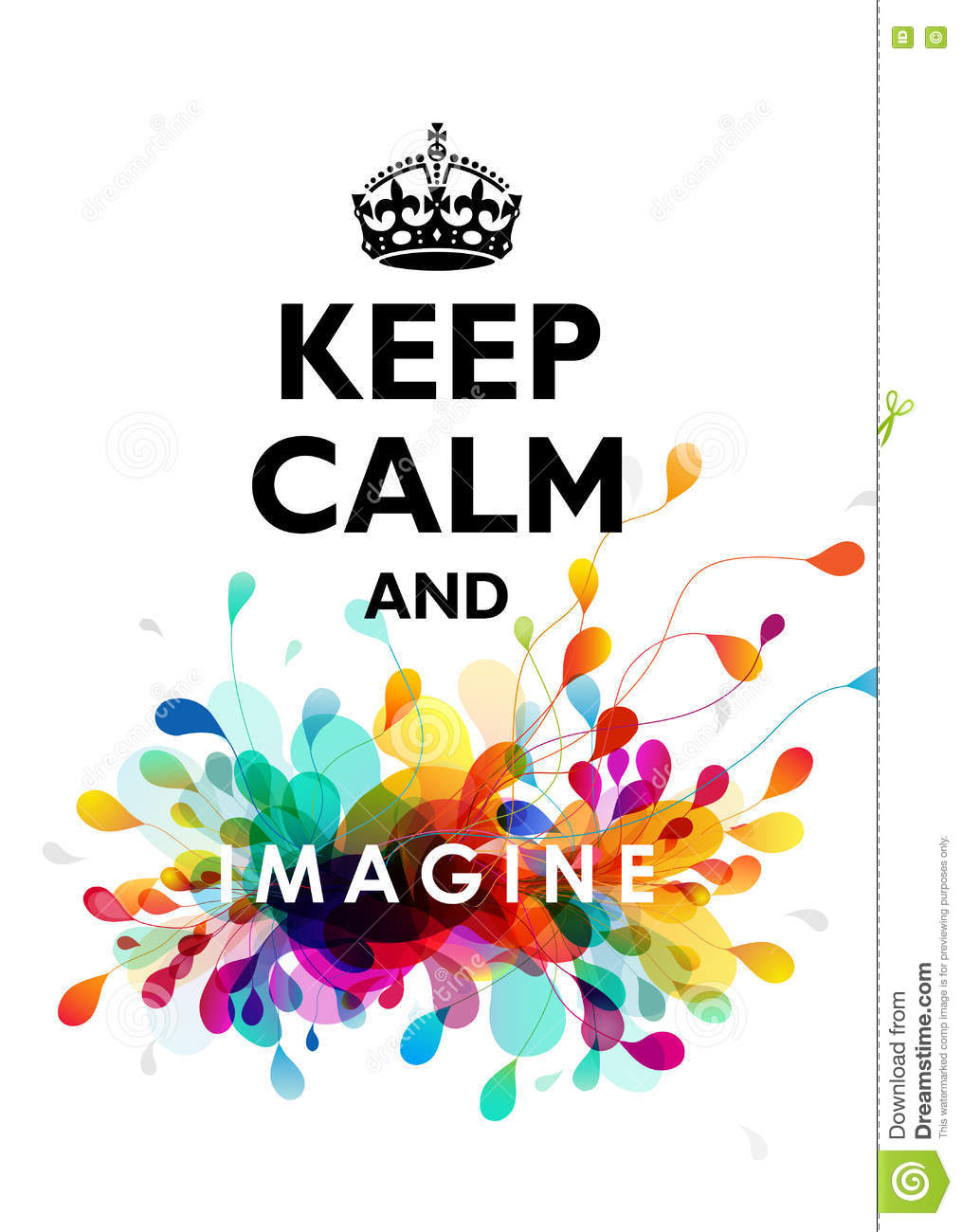 Traditional Keep Calm Background Stock Vector ...
