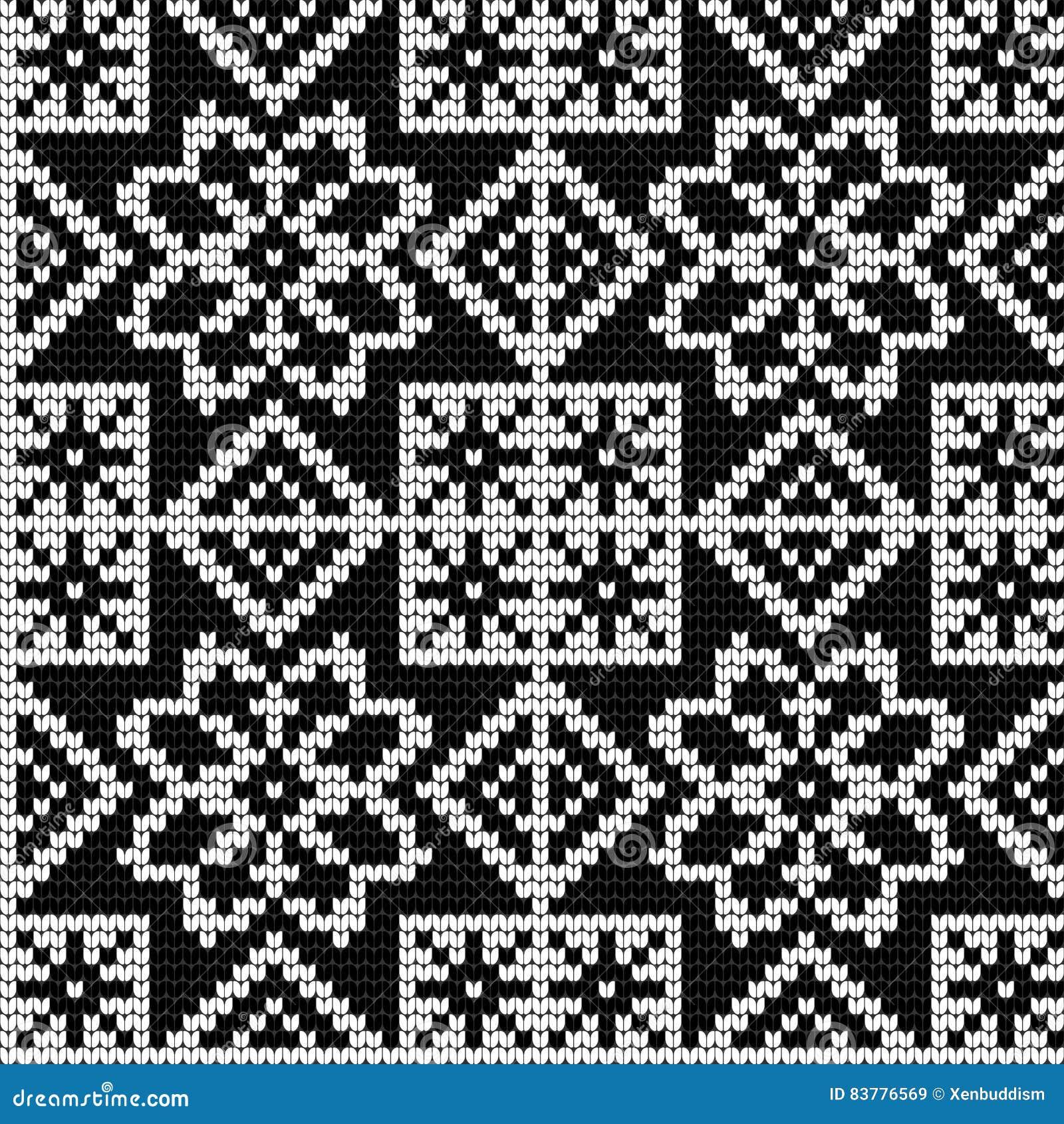 Colorful Norwegian Knitting Pattern Crest - Blanket Knitting Pattern ...