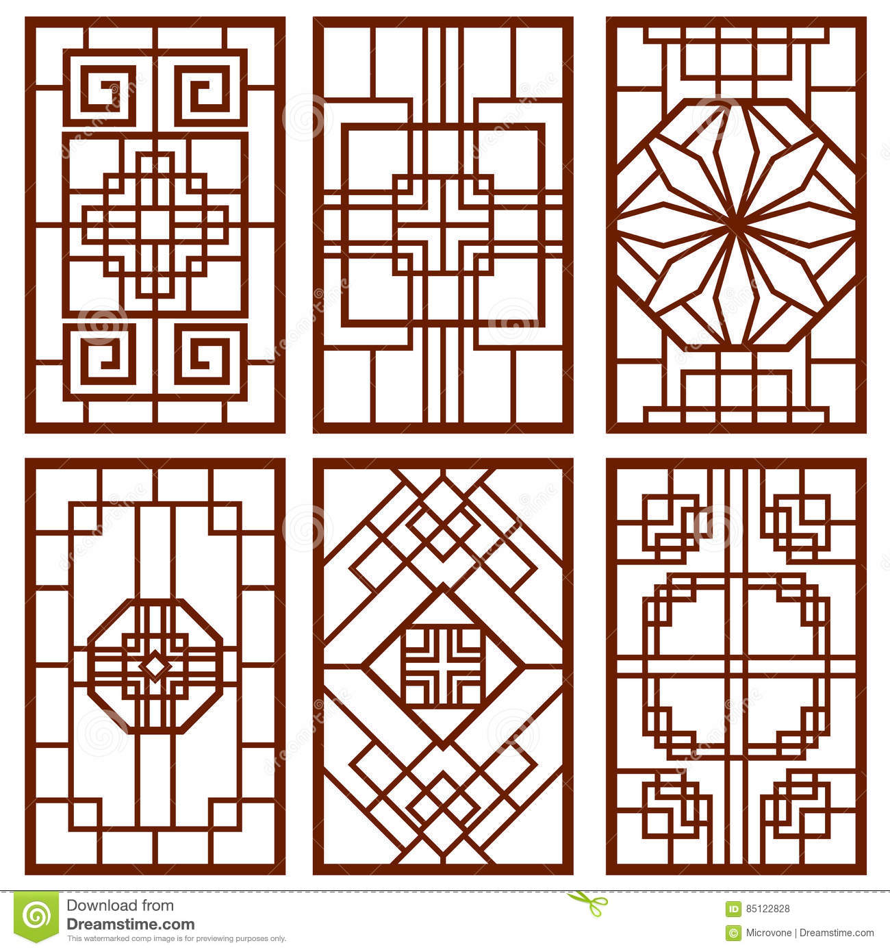 Traditional korean design the image kid for Window design wall