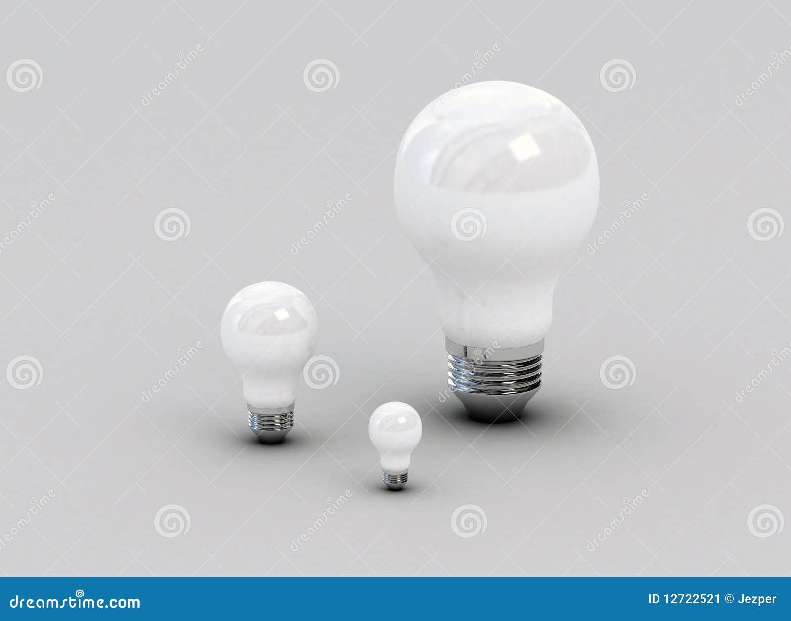 Traditional Light Bulbs Stock Image Image 12722521