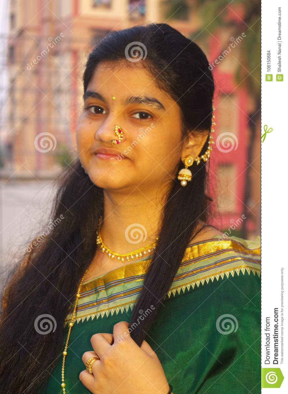 Traditional Maharashtrian Girl-9