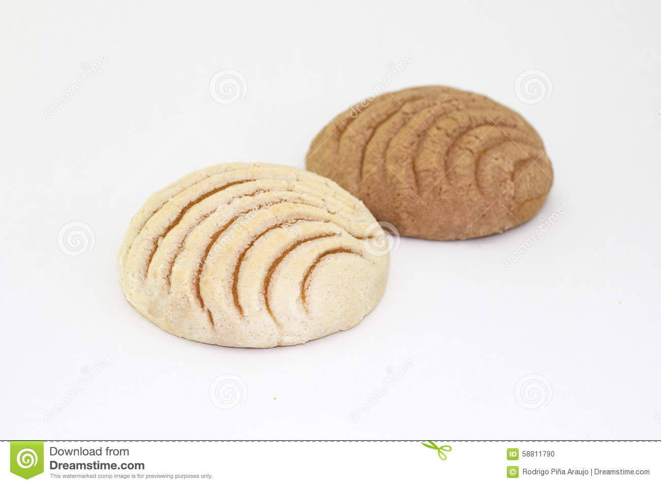 Traditional Mexican Bread Stock Photo Image Of Mexico 58811790