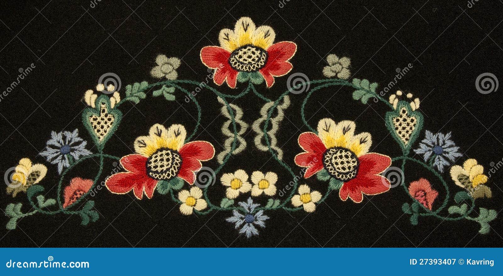 Norwegian Embroidery Designs