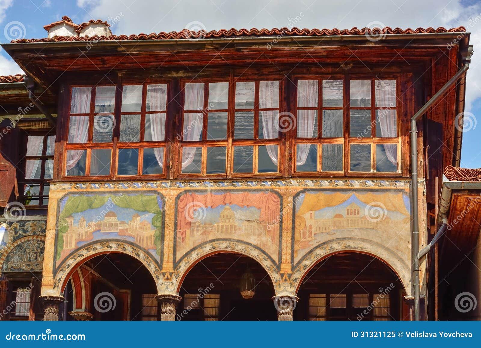 A traditional old house, Koprivshtitsa, Bulgaria
