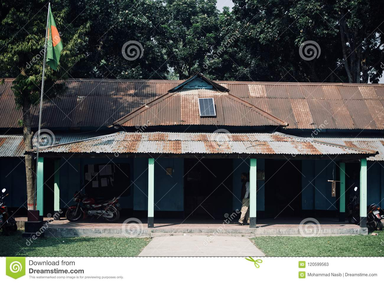 Download A Traditional Old School In Bangladesh Editorial Stock Photo - Image of area, school: 120599563