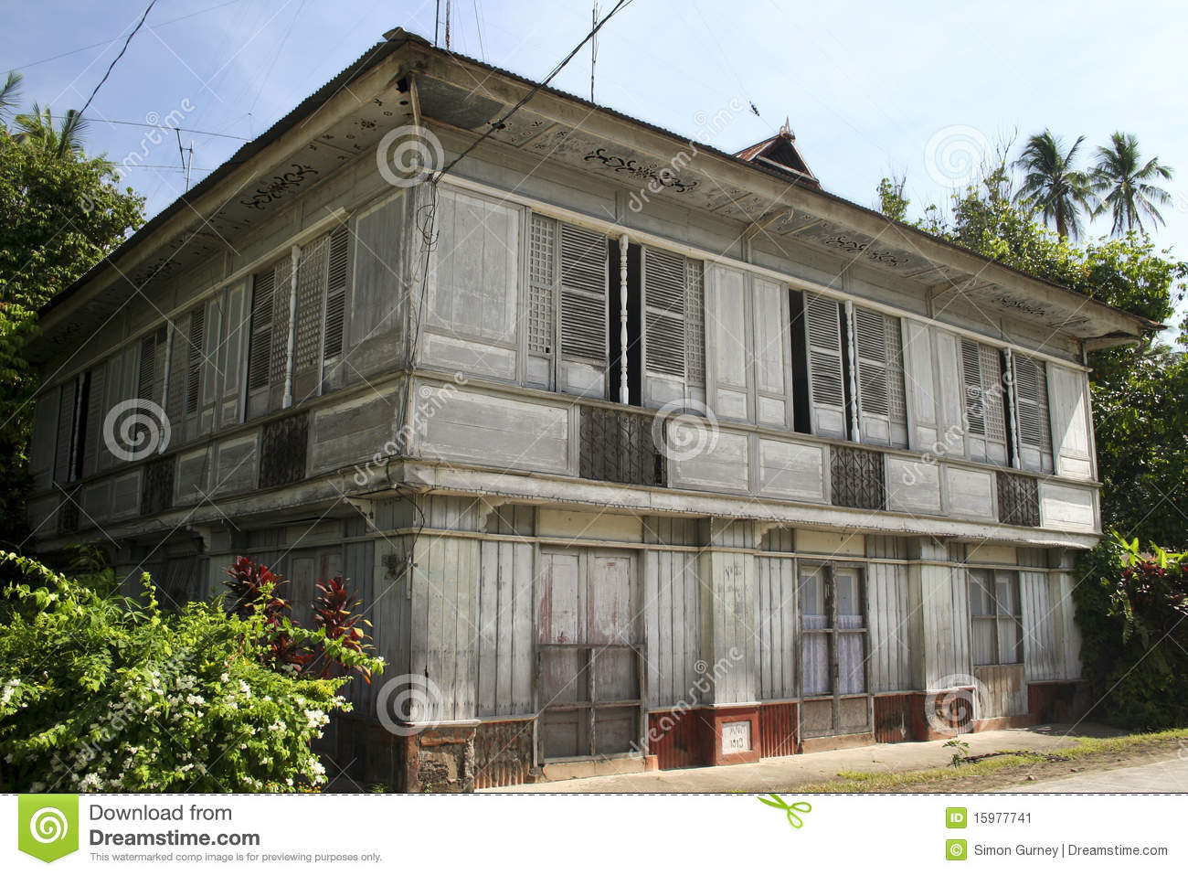 Traditional old style house philippines lifestyle stock for House pictures in the philippines
