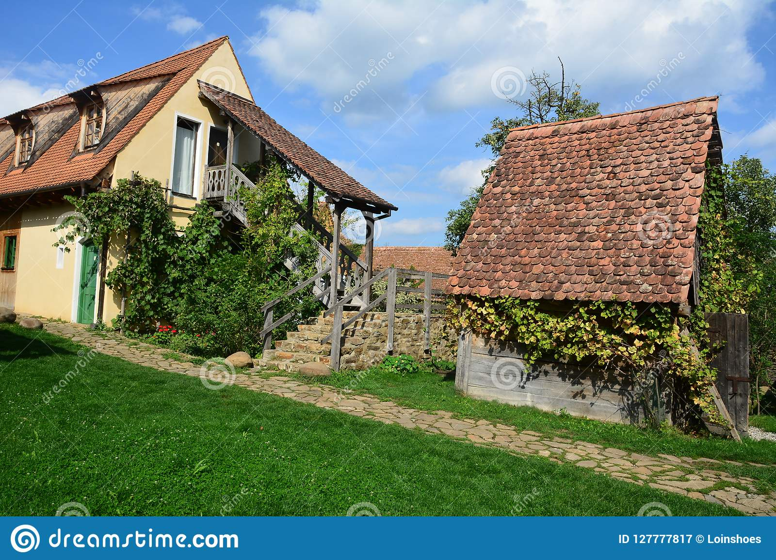 Traditional house in a Saxon,house and out build's