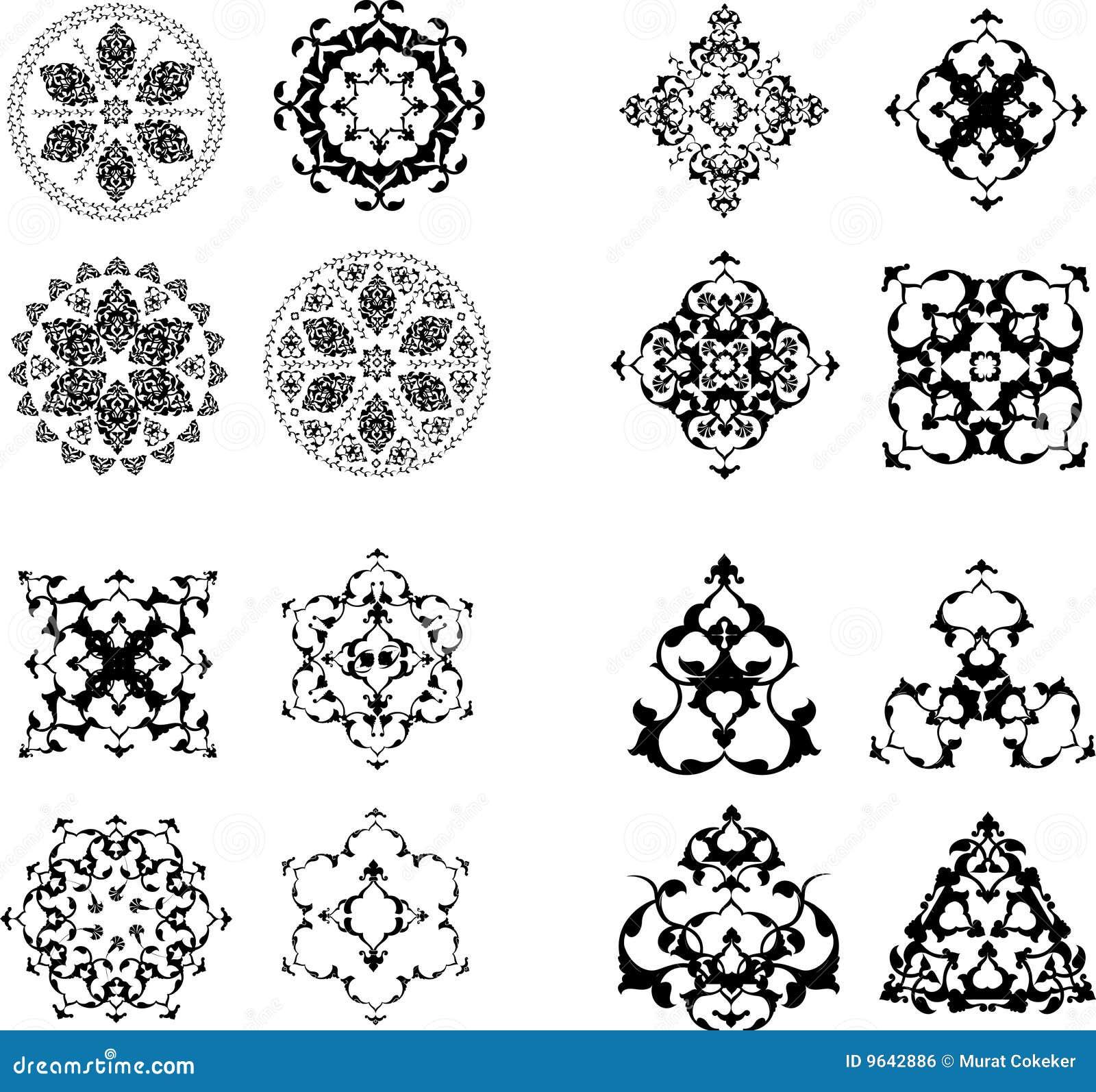 design ottoman tile turkish .
