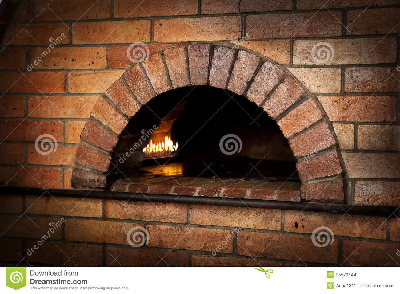 A Traditional Oven For Cooking Stock Photo Image Of