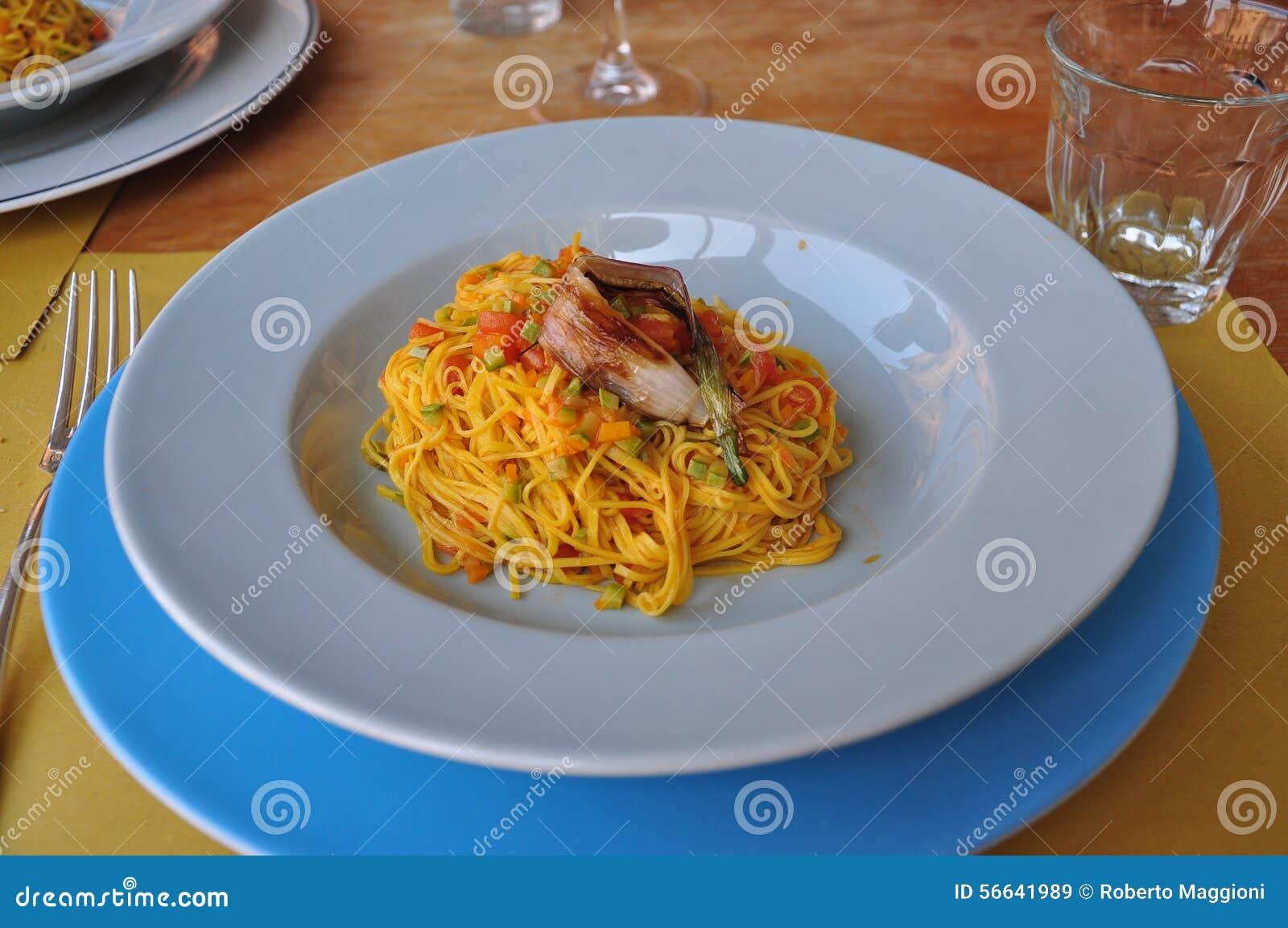 Pasta custard recipe