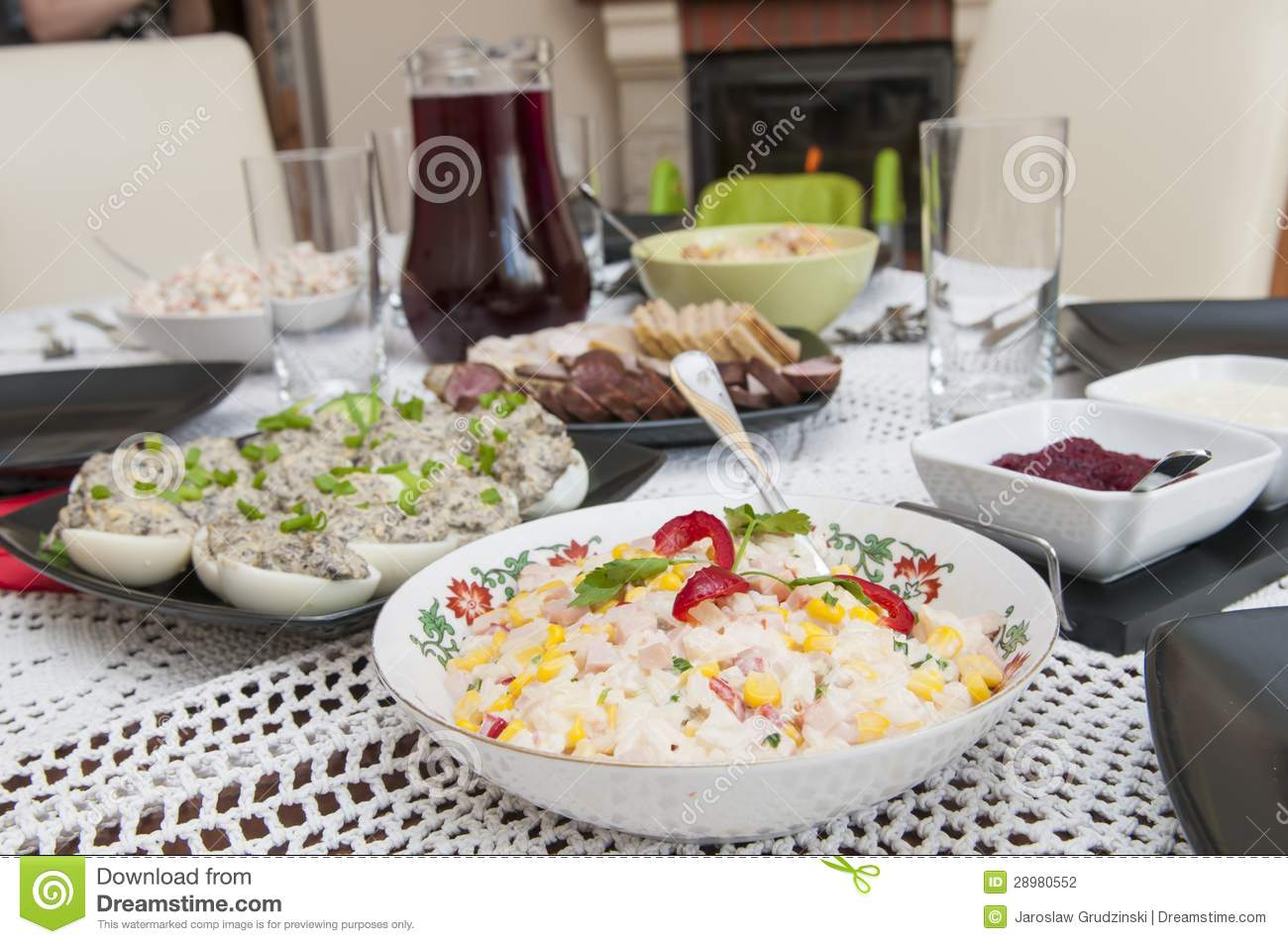 Traditional polish easter food stock photo image 28980552 for What is a traditional easter dinner