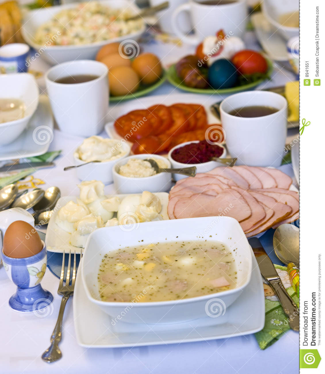Traditional polish food stock image image 8941651 for Authentic polish cuisine