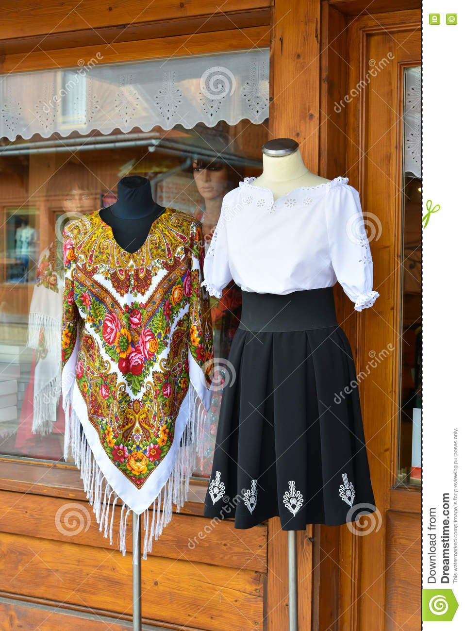 efff2b4a6dab Traditional polish outfit stock image. Image of manufacture - 74342441