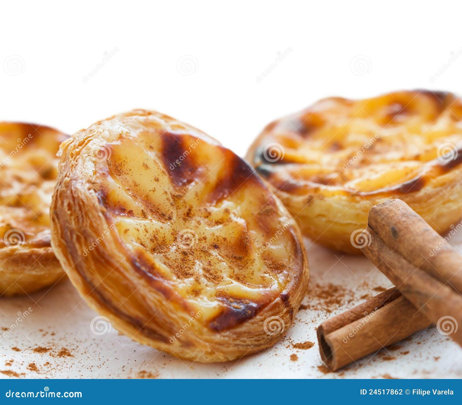 Рецепт португальских пирожных паштейш