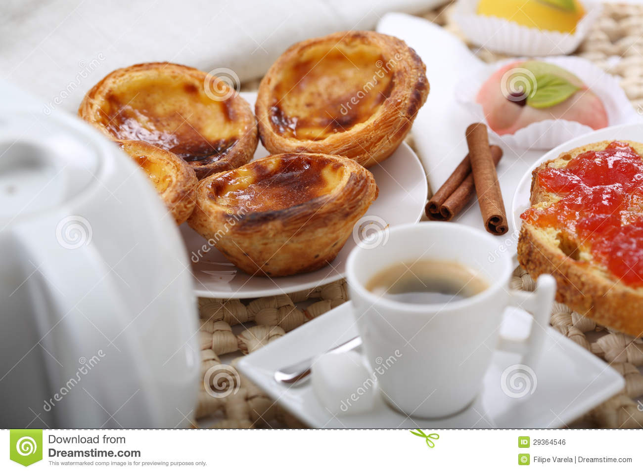 Traditional portuguese food on a table royalty free stock for Authentic portuguese cuisine