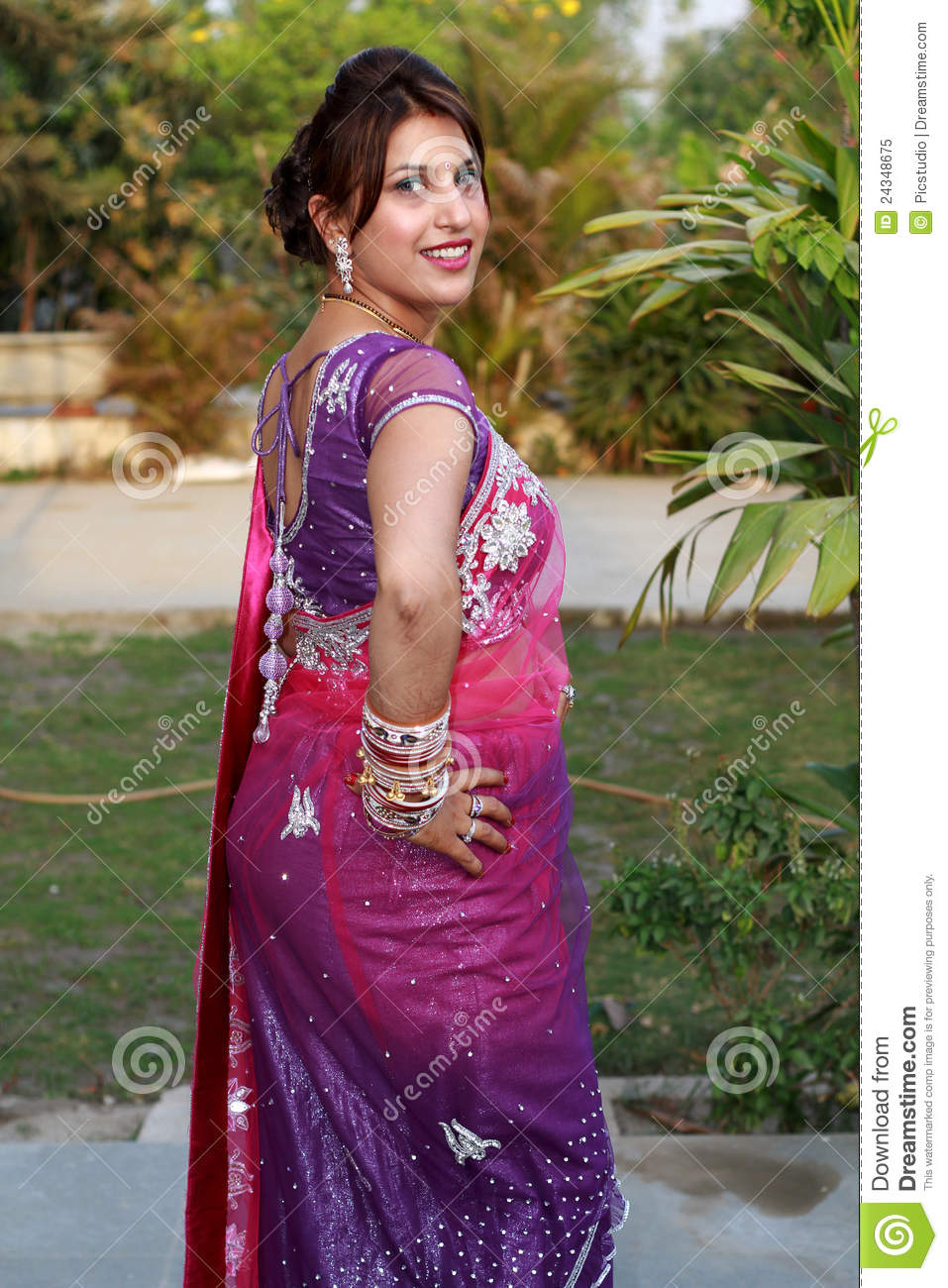 Traditional Punjabi Girl Royalty Free Stock Photo - Image -7088
