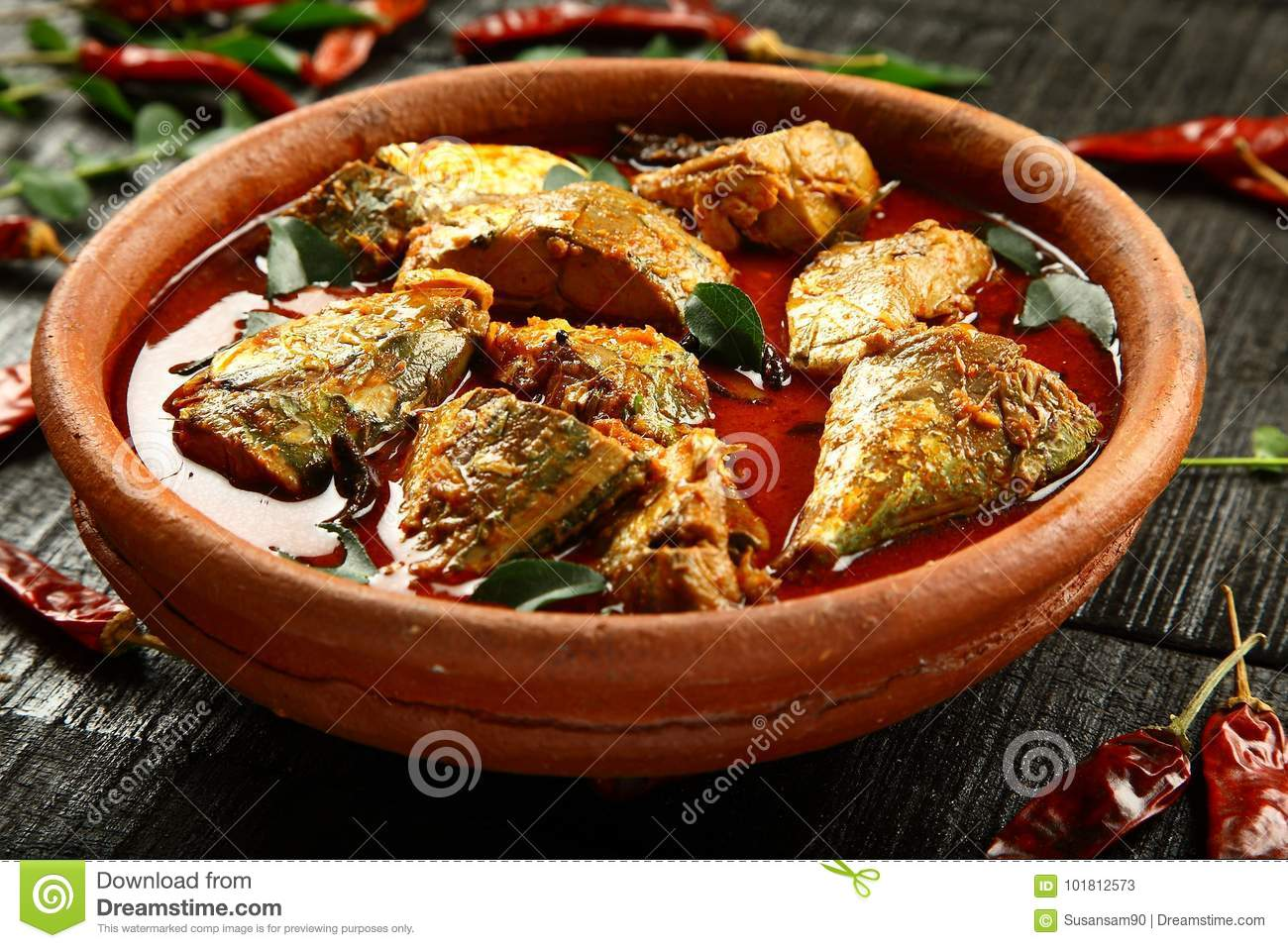 Traditional recipe kerala fish curry stock image image of homemade traditional recipe kerala fish curry royalty free stock photo forumfinder Images