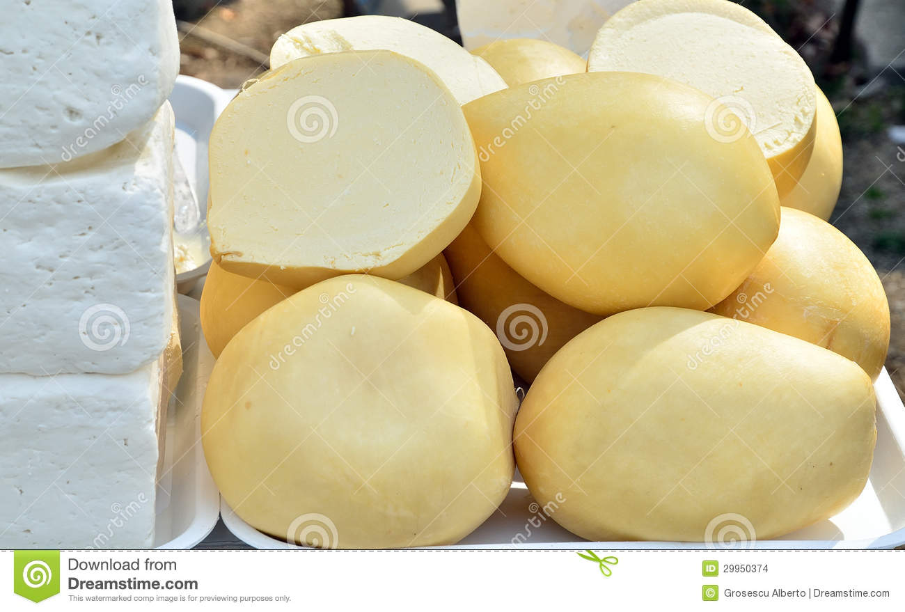 Traditional Romanian Cheese Stock Images Image 29950374