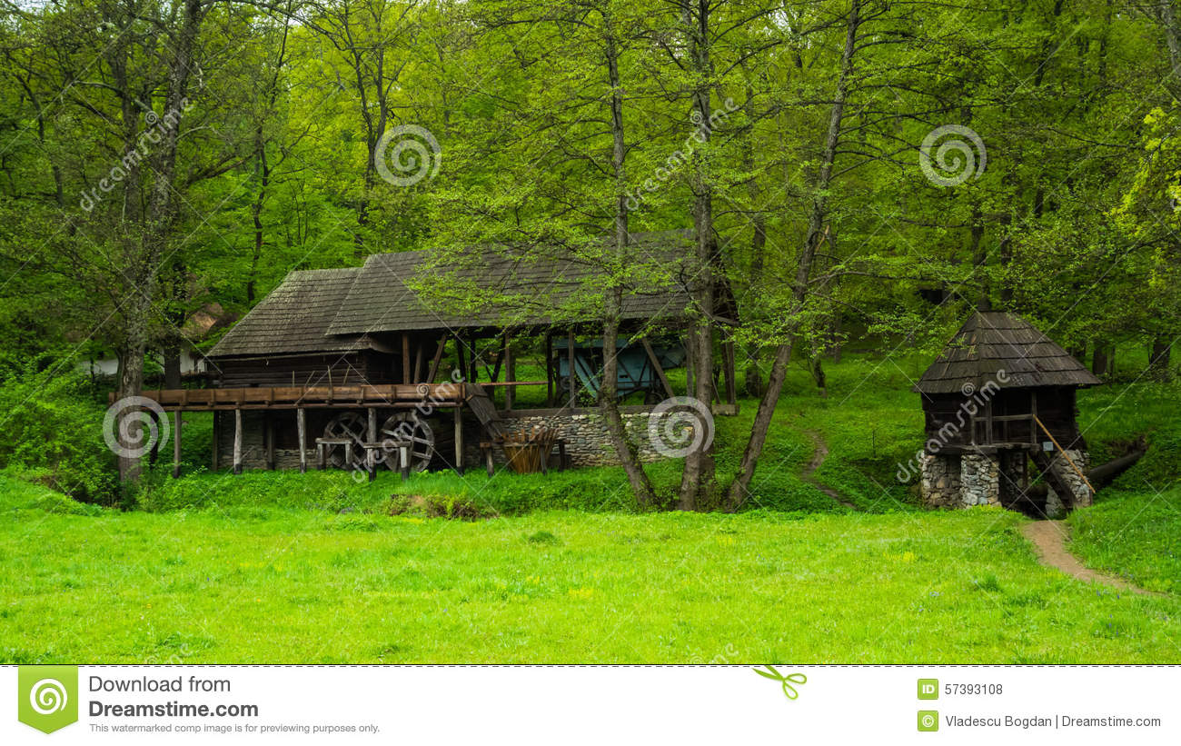 Romanian traditional house design