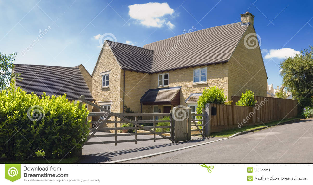 Traditional Rural Homes Scene Stock Photos Image 30565923