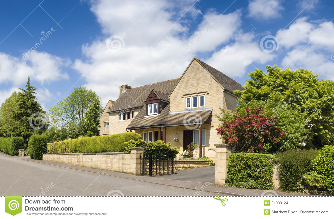Traditional Rural Homes Scene Stock Images Image 31038124