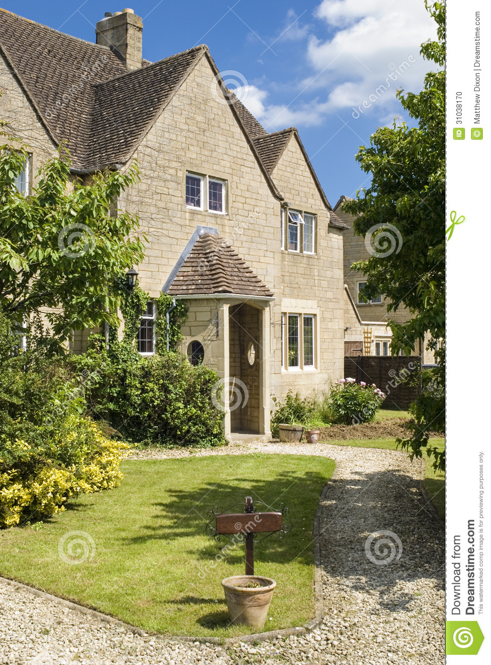 Traditional rural homes scene stock photo image 31038170 for Rural home builders