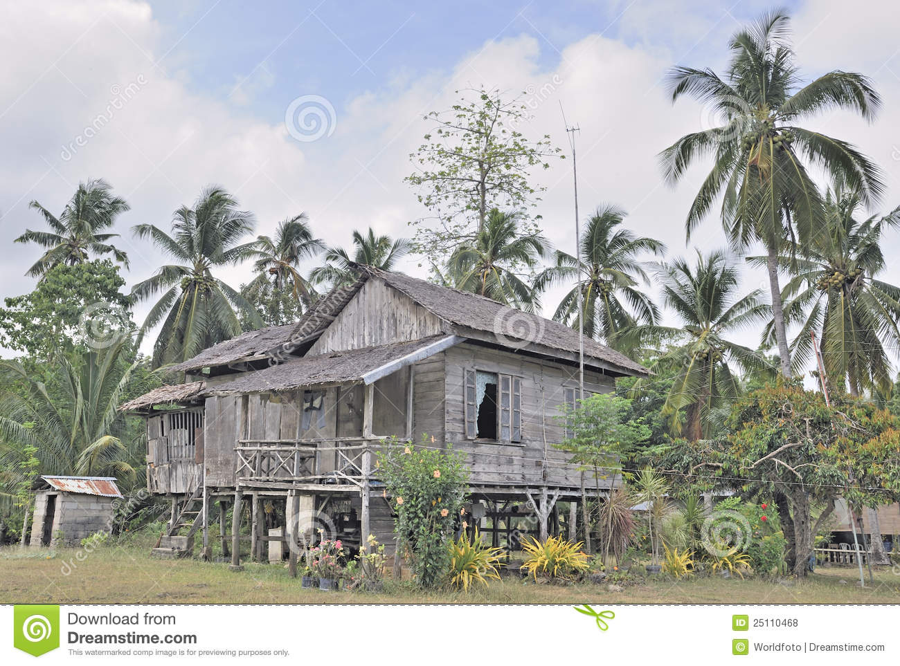 Traditional rural house in philippines stock photo image for Classic house design philippines
